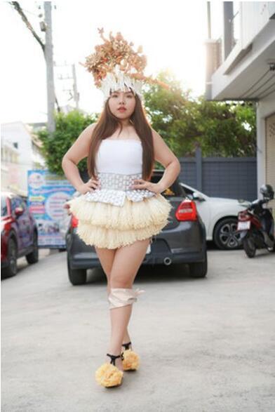 金针菇裙子