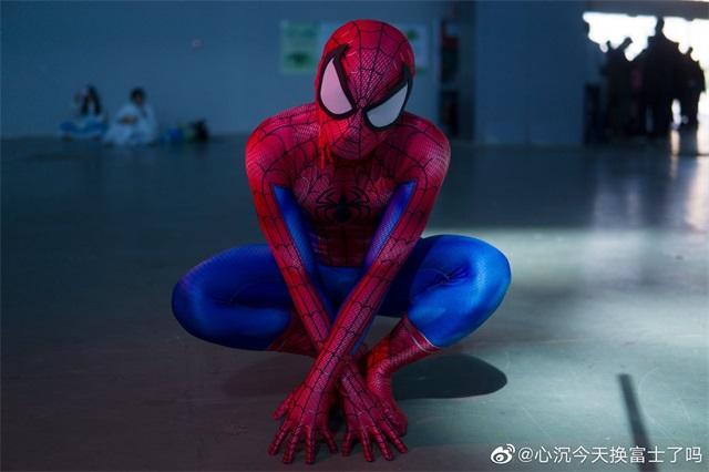 蜘蛛侠cosplay美图