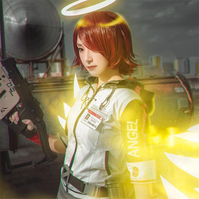 明日方舟能天使cosplay服装
