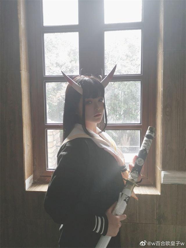 碧蓝航线能代cosplay美图