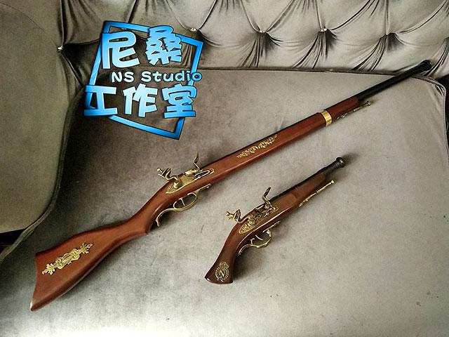 时崎狂三手枪cos道具